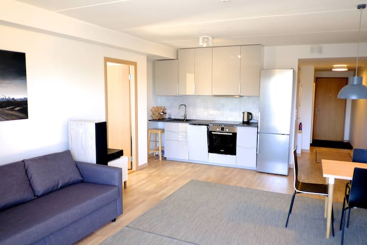 New flat with self-check-in and free parking, 54m2