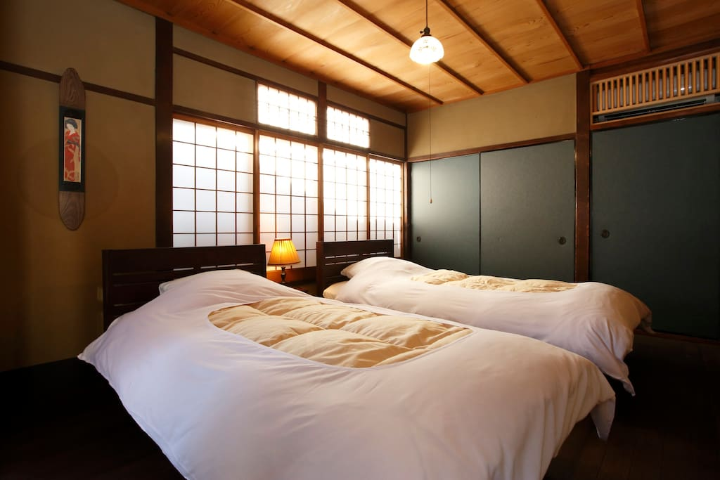 Western-style bed room