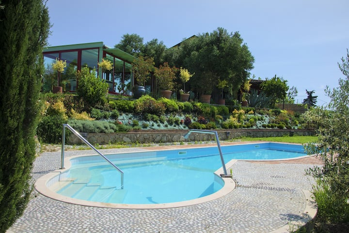 Luxury Villa in Marche countryside POOL free wine