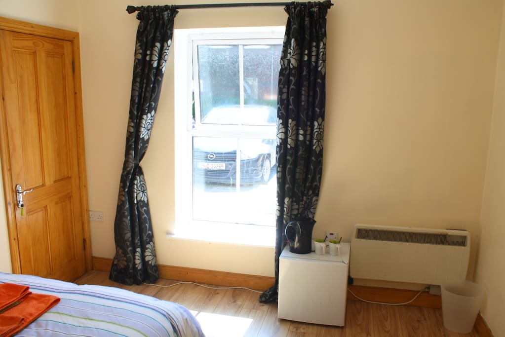 Deluxe Double Bedrooms Fridge & Hot Drink/Soup Station