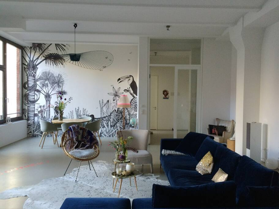 zimmer room in design fabrik factory loft lofts for rent in berlin berlin germany. Black Bedroom Furniture Sets. Home Design Ideas