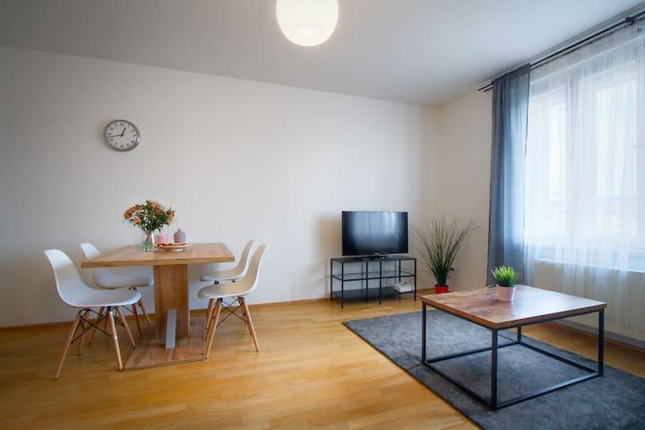 Cosy modern apartment in trendy neighborhood