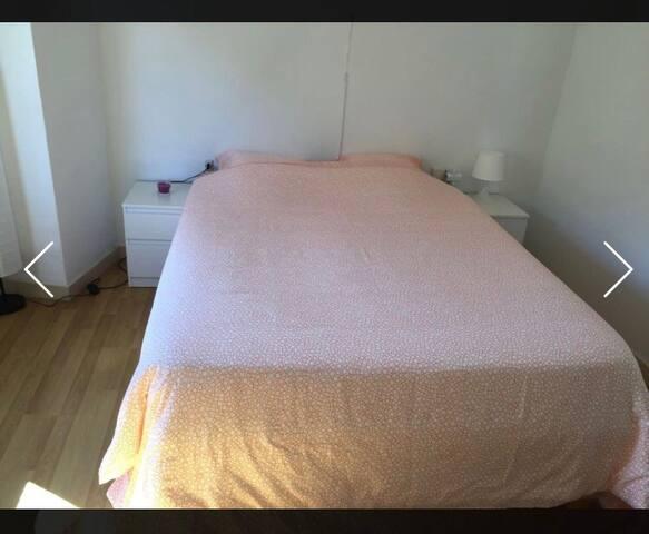 Big room for 2p, near the beach! - Badalona - Apartemen