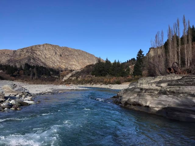 Queen Ensuite Room 6 Minutes to Central Queenstown
