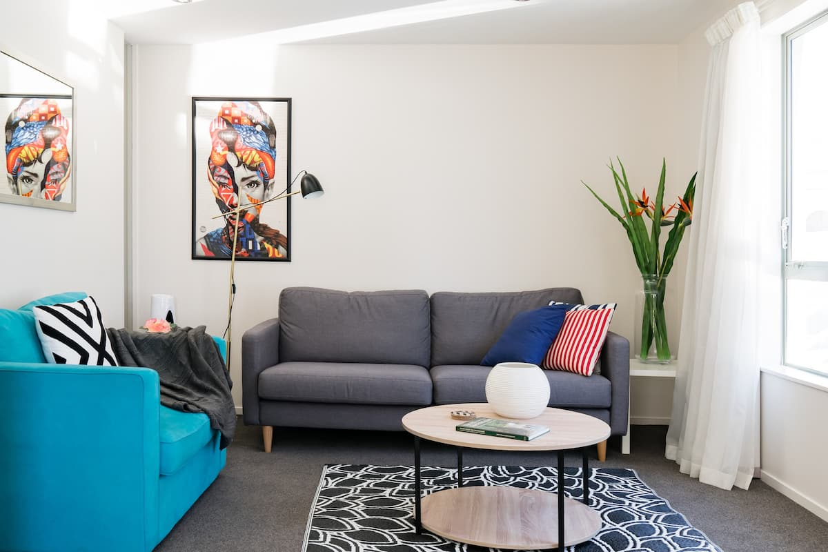 Walk to All the City Sights from this Chic Apartment