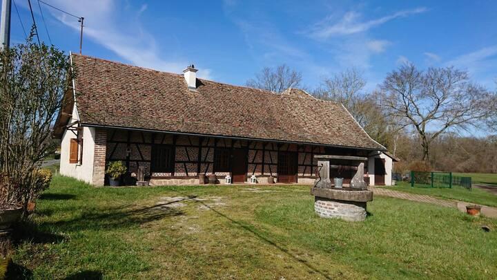 Ferme à la Bresse bourguignonne au calme