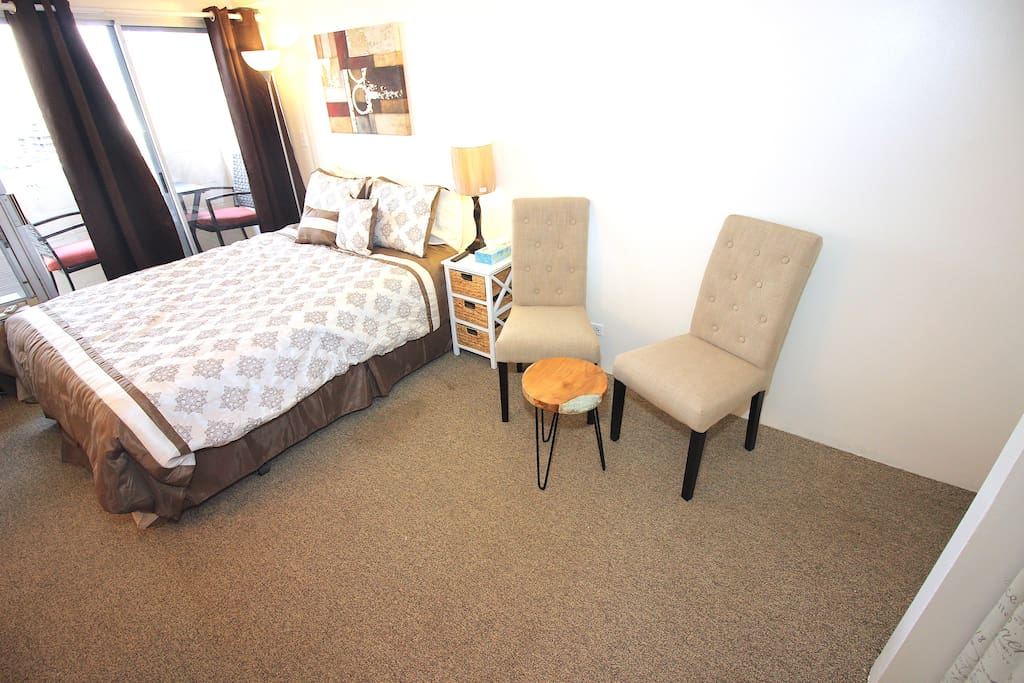 Bed and indoor furniture