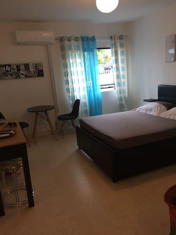 Studio climatisé pour 3 personnes - Sainte-Clotilde - Lägenhet
