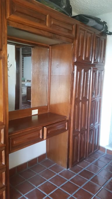 Lots of cabinets