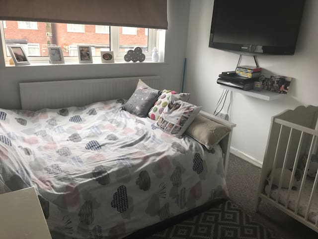double room in a lovely  historical town