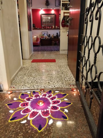 Entrance to Apartment.