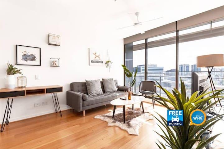 极简清新风格公寓  | 花园泳池ins风