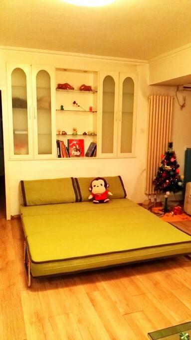 客厅双人沙发床1.8*2.0m