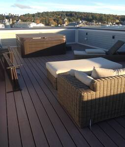 BBH Lux 3 Bedroom Boothbay Harbor Apt w/ Hot tub - Boothbay Harbor - Διαμέρισμα