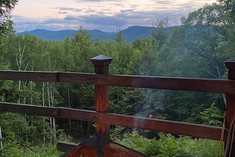 Off Grid Evans Notch/Cold River Mountain Cabin