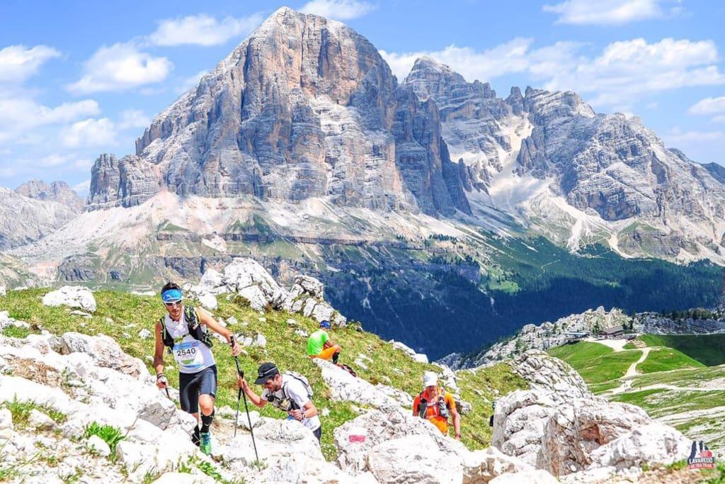 Corsa sulle Dolomiti