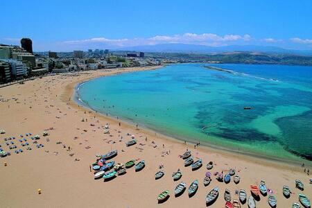 Studio 25m de Playa de Las Canteras - Las Palmas de Gran Canaria