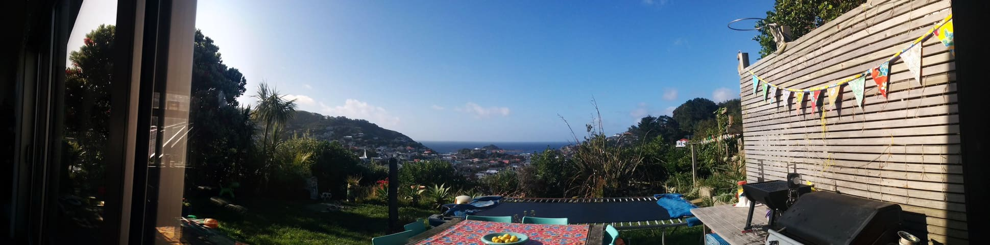 Vibrant Island Bay Villa