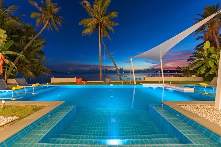 Paradis Blanc - Koh Phangan Luxury Beachfront