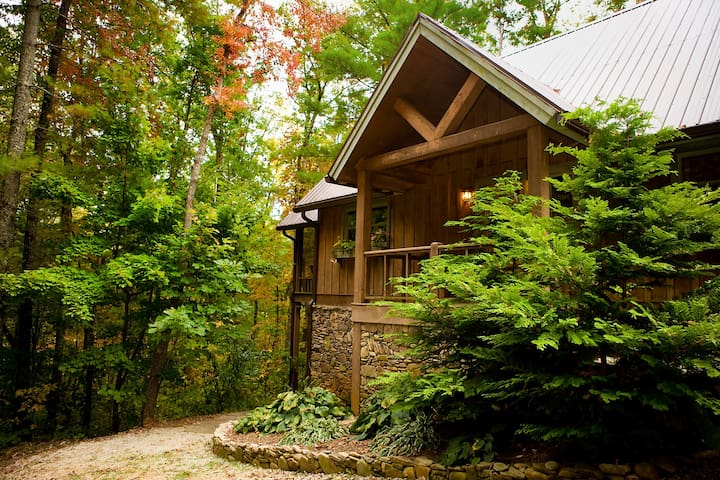 Sapphire - A Quiet Splendor Mountain Cabin for 12 - Tiger - Rumah