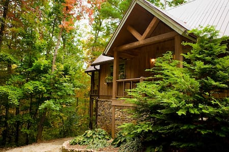 Sapphire - A Quiet Splendor Mountain Cabin for 12 - Tiger