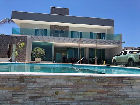 Casa na Represa de Xavantes, em Carlópolis/PR