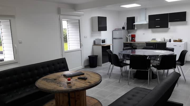 GRAND GITE NEUF 8 COUCHAGES