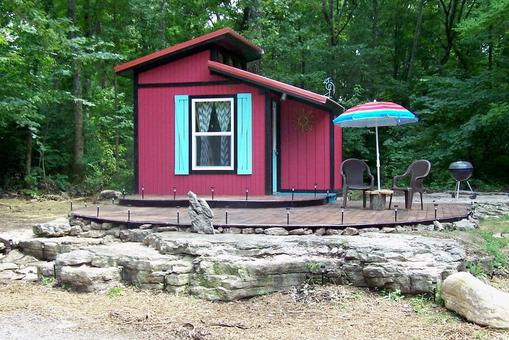 Have A Backstage Tiny House Experience! - Tiny houses for