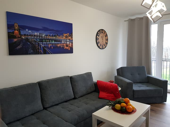 White Apartment near Wrocław/NaPrzedmieściachWrocł