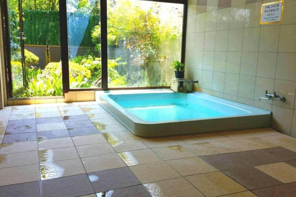 Natural hot spring!!