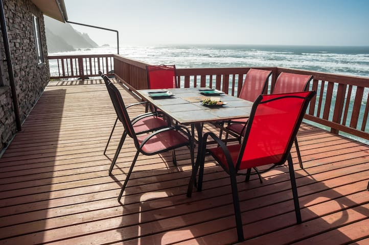 SB:  A+OceanView!!, Deck, Firepit, Beach Supplies