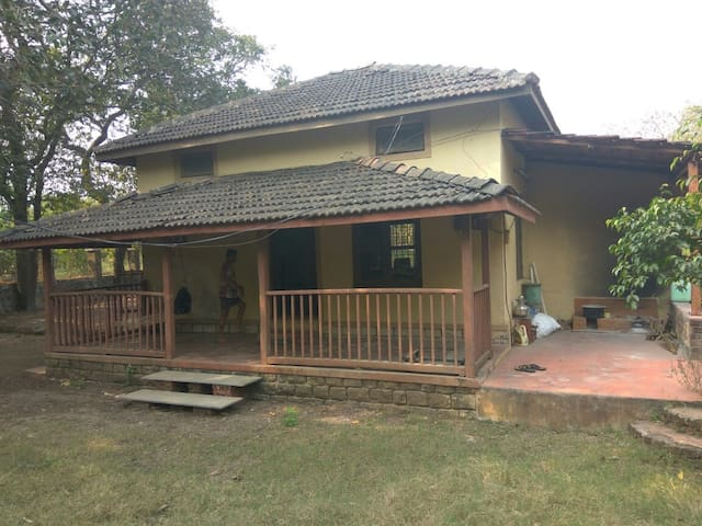 Portuguese Style open living Bungalow at Alibaug - Alibag