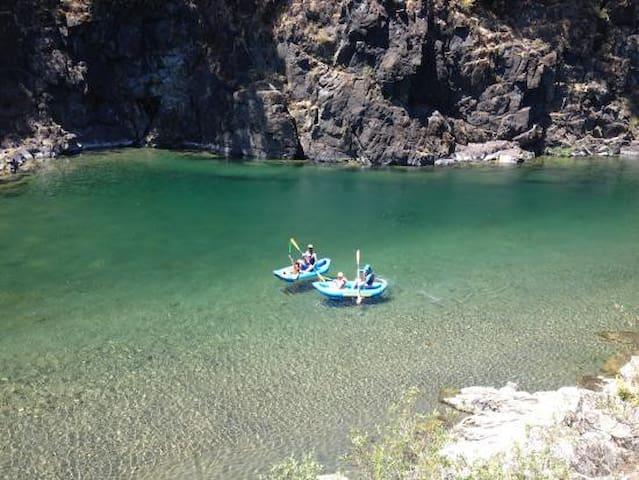 kayaking access