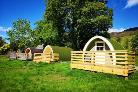 Glamping Pod 4 @ Craskie Estate