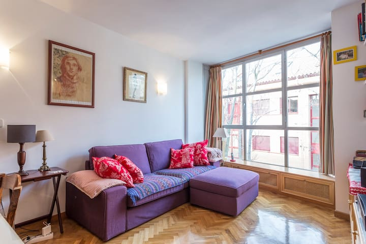 Nice two bedrooms flat very 10 min from Madrid - Madrid - House