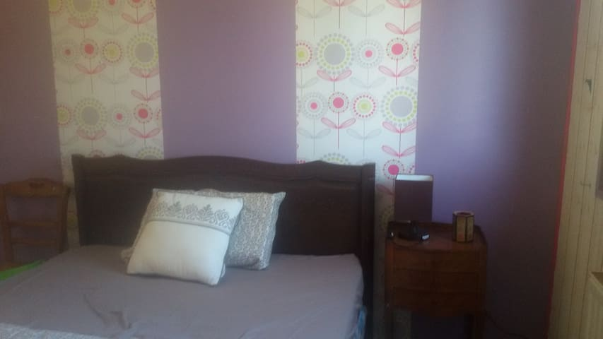 chambre dans maison agréable avec jardin à Rethel - Rethel - Casa