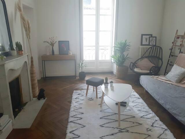 Appartement cosy cœur historique de Nantes