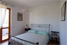 Camer da letto con 1 letto matrimoniale