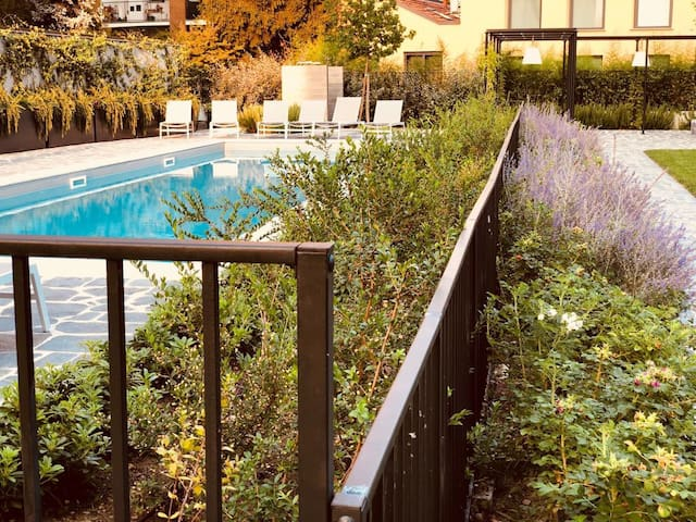 Navigli Design house with swimming pool