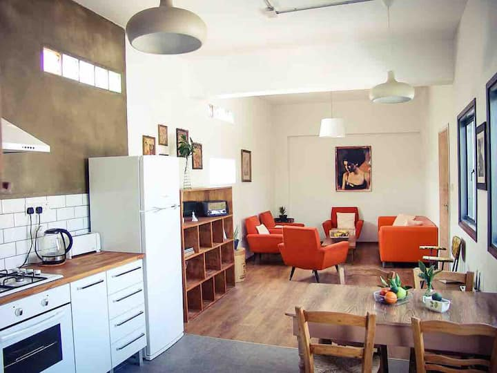 Arty Flat in Walled City Nicosia (North Cyprus)
