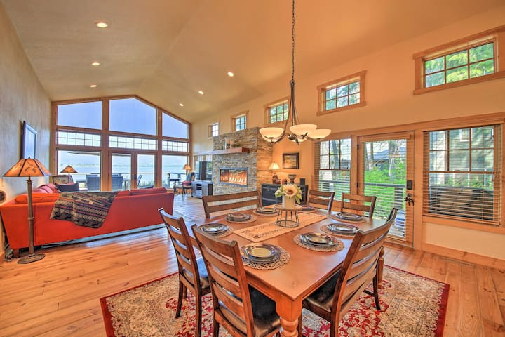 NEW! Sandpoint Waterfront on Lake Pend Oreille!