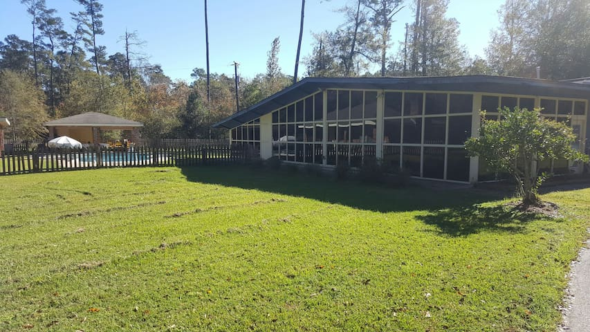 Secluded Country Estate - Slidell - Huis