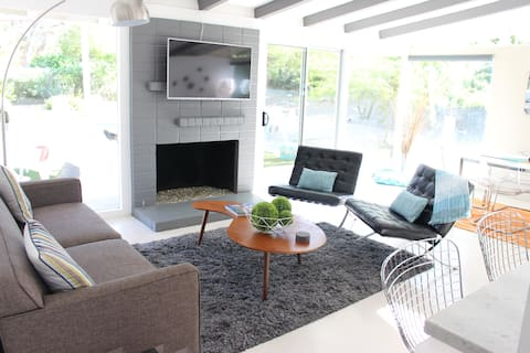Boutique Mid Century Retreat