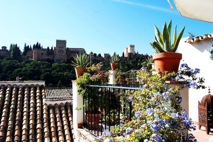 Atico de María la Chola (WIFI) - Granada - Apartment