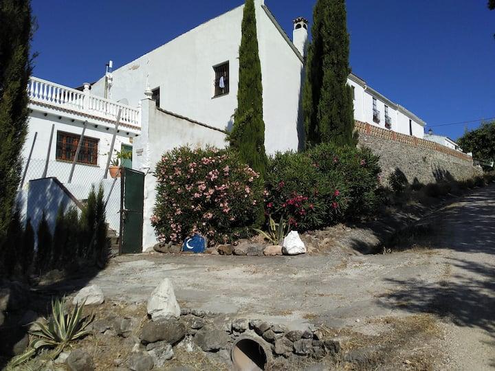 Casa Las Lunas.  Tradtional  Rustic Mountain Villa