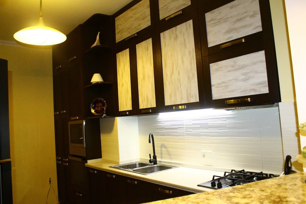 a kitchen