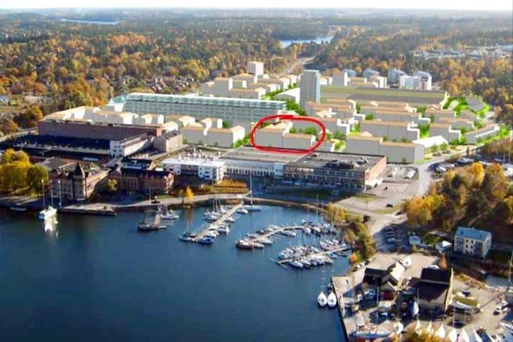 4:a i Gustavsbergs hamn uthyres 2 veckor