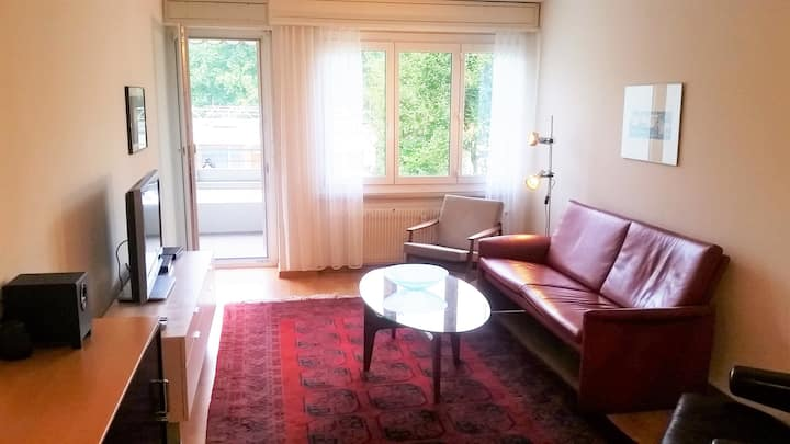 Cozy 2 bedrooms flat just 5 minutes from Bern