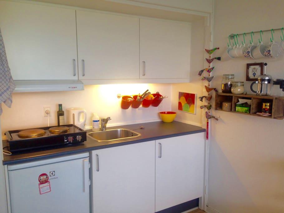 Full Kitchen minus  oven