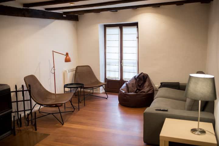 Céntrico, confortable y coqueto apartamento.